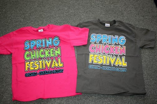 We have Chicken Fest T-Shirts at the Times Office! Youth - adult 3X! $10 each; $12 for 2X and 3 X
